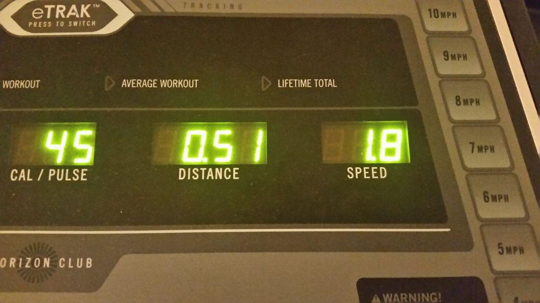 Treadmill 11-2-2017